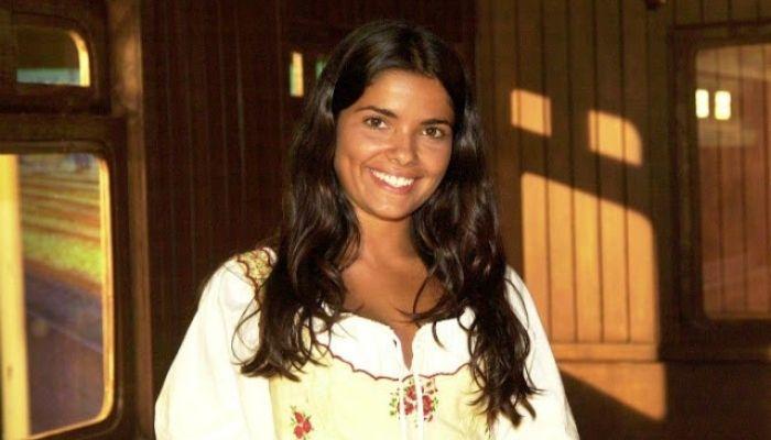 Vanessa Giacomo como zuca em cabocla na globo